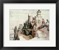 Framed Fortified Castle