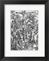 Framed Christ on the cross