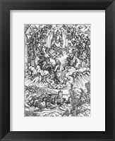 Framed Scene from the Apocalypse, St. John before God the Father and the Twenty-Four Elders