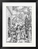 Framed Visitation, from the 'Life of the Virgin' series, c.1503