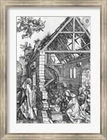 Framed Nativity, from the 'Life of the Virgin' series, c.1503