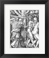 Framed Expulsion from Paradise, 1510