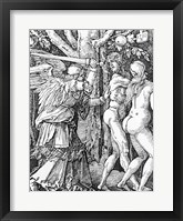 Framed Expulsion from Paradise, 1510