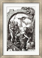 Framed Harrowing of Hell or Christ's descent into Limbo, 1512