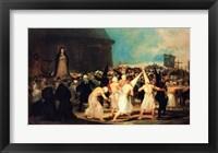 Framed Procession of Flagellants, 1815-19