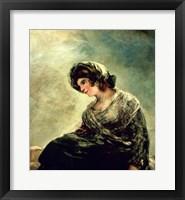 Framed Milkmaid of Bordeaux, c.1824