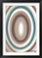 Framed Concentric Oval #1