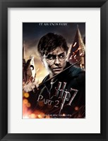 Framed Harry Potter and the Deathly Hallows (part II)
