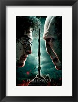Framed Harry Potter & Deathly Hallows: Part II