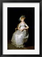Framed Portrait of Maria Teresa
