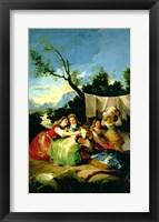 Framed Washerwomen, before 1780