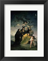 Framed Witches' Sabbath