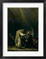 Framed Last Communion of St. Joseph Calasanz
