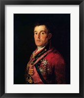 Framed Duke of Wellington