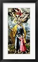 Framed St. Joseph and the Christ Child
