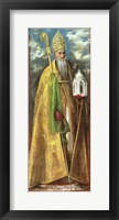 Framed Saint Augustine of Hippo