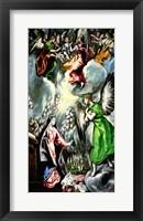 Framed Annunciation 1596-1600