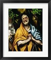 Framed Tears of St Peter