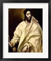 Framed St. Bartholomew, 1606
