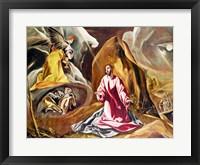 Framed Agony in the Garden of Gethsemane