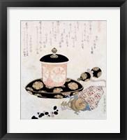 Framed Pot of Tea and Keys, 1822