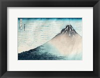 Framed Fuji in Clear Weather