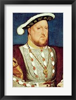 Framed King Henry VIII