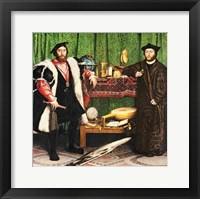 Framed Ambassadors, 1533
