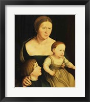 Framed Charity or The Family of the Artist, c.1528