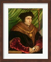 Framed Portrait of Sir Thomas More