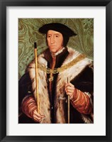 Framed Portrait of Thomas Howard, 1539
