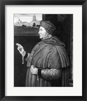 Framed Cardinal Thomas Wolsey