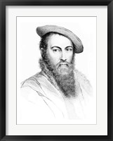 Framed Sir Thomas Wyatt