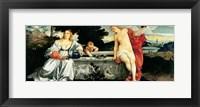 Framed Sacred and Profane Love, c.1515