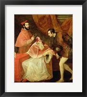 Framed Pope Paul III