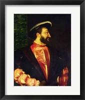 Framed Portrait of Francis