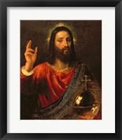 Framed Christ Saviour