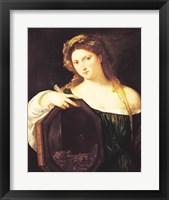 Framed Allegory of Vanity