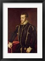 Framed Portrait of Philip II