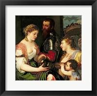 Framed Allegory of Married Life