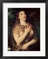 Framed Mary Magdalene