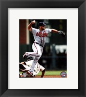 Framed Dan Uggla 2011 Action