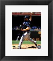 Framed Tommy Hanson 2011 Action