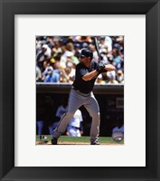 Framed Brian McCann 2011 Action
