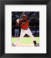 Framed Justin Upton 2011 Action