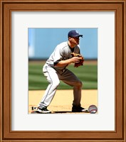 Framed Chase Headley 2011 Action