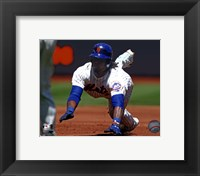 Framed Jose Reyes 2011 Action
