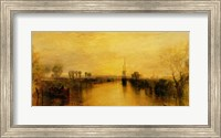 Framed Chichester Canal, c.1829
