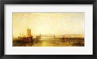 Framed Brighton from the Sea, c.1829