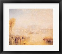 Framed View of the Pont Neuf, Paris